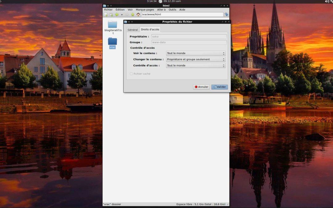 Linux : Appliquer les Bonnes Permissions sur un Dossier Web