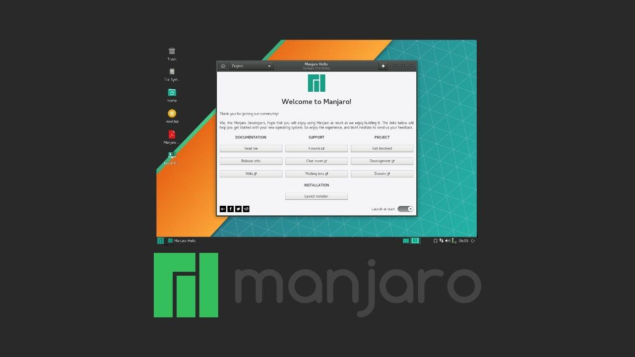 Choisir Sa Distribution Linux - Manjaro - Soka Wakata