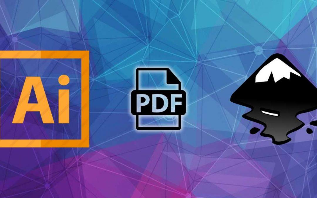 Illustrator : Ouvrir des fichiers AI récalcitrants avec Inkscape