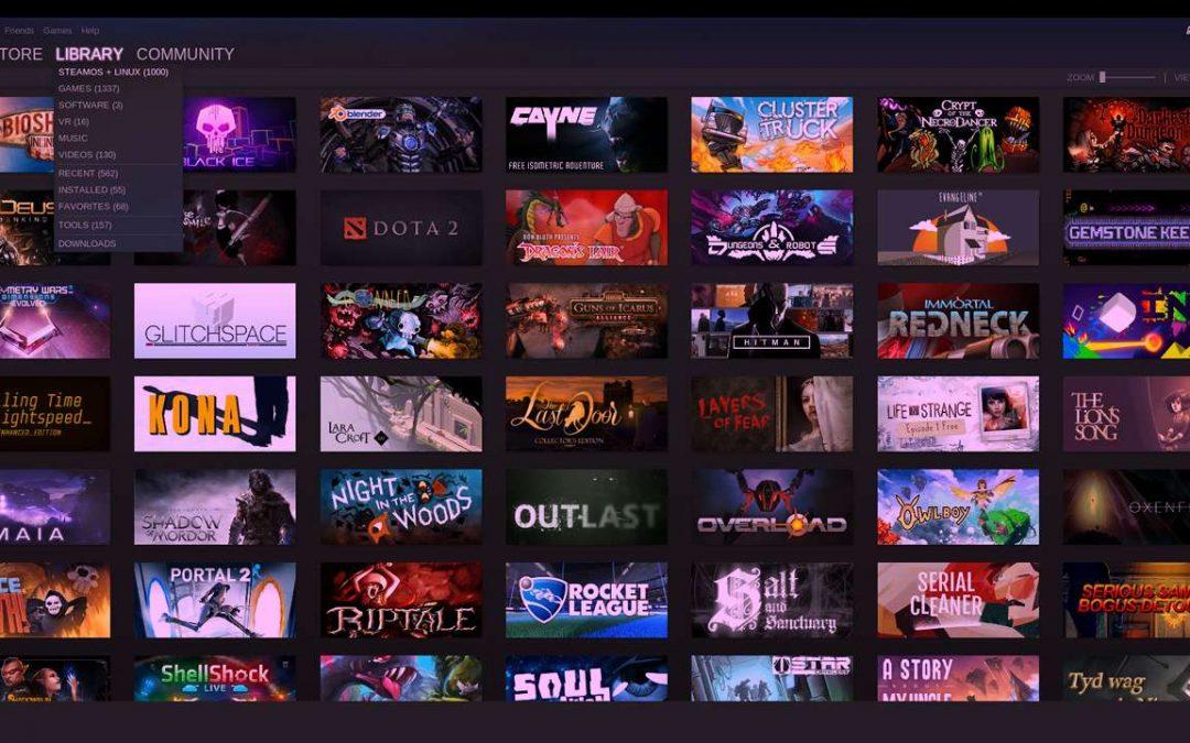La Place des Jeux-Vidéo dans Linux