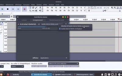 Enregistrer l'Audio Provenant du PC avec Audacity sur Linux
