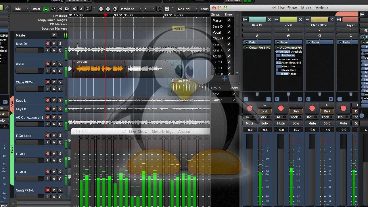 Produire de la Musique sous Linux : Que Vaut Linux ?