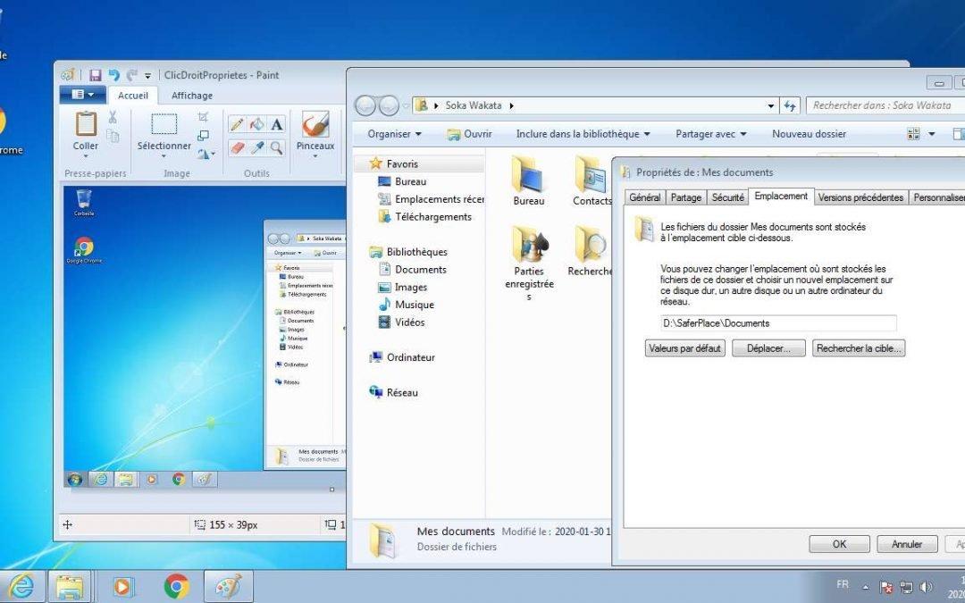 Windows : Partage des Dossiers Personnels entre Plusieurs Profils