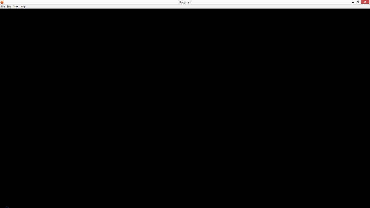 Écran Noir de la Mort - PostMan - Écran Noir Au Démarrage