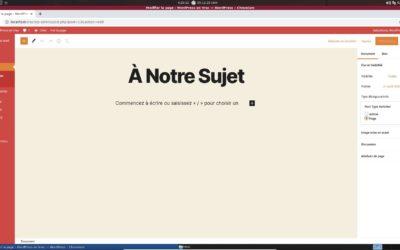 WordPress : Changer un Article en Page (ou vice-versa)